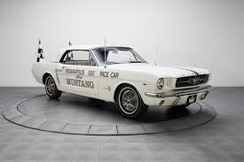 1964 Black Mustang 1964 Ford Mustang Pace Car 3376 Miles Fleet White Convertible 289