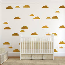 White Wall Decals For Nursery by Uncategorized Creative Idea Beautiful Nursery With White Modern
