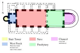 All Saints Church Floor Plans by Brixworth