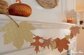 fall garland diy simple fall garland fall mantel lehman