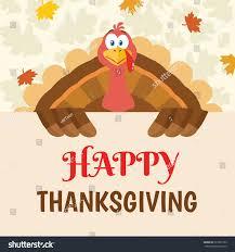 turkey bird mascot character holding stock vector