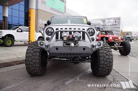 jeep silver 2016 2016 sema doetsch off road grizzly jeep jk wrangler unlimited