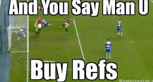 Funny Man Utd Memes - troll football manchester dont buy refs proof troll football