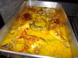 cuisiner cuisse de poulet au four cuisses de poulet au four sauce curry moutarde a l ancienne