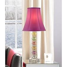 Pink Table Lamps Bohemian Orchid Stacked Glass Table Lamp 4n709 Lamps Plus