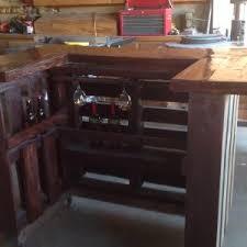 furniture utilizing used wood for furniture pallet bar ideas