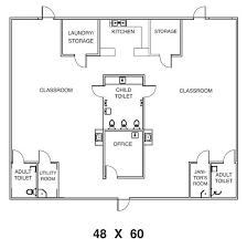 sample day care center floor plans nursery floor plans
