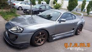 widebody supra mk4 toyota supra ridox style front wings 30mm gramsstyling co uk