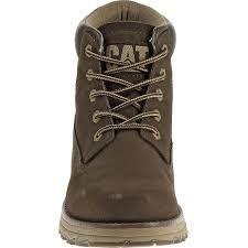 cat founder casual boots men u0027s espresso uttings co uk