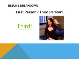 Resume First Person Kinsey Comm202 Week 9