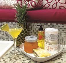 signature service orange pineapple slush spa pedicure technique