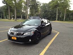 lexus ct200h coilovers thule roof rack installed with hull a port pro