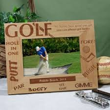 personalized golf gifts engraved golf picture frames