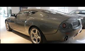aston martin db7 zagato aston martin db7 zagato very rare and expensive collectors car