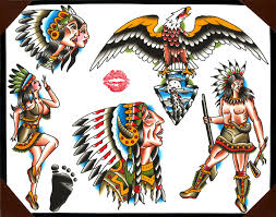 Blackfoot Indian Flag Collection Of 25 Black Foot Native American Tattoos