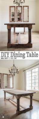 Best  Diy Dining Room Table Ideas Only On Pinterest Farm - Diy dining room table plans