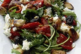 recipe for green salad with fig balsamic dressing