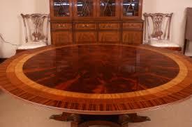 Mahogany Dining Table Lh 14 Round Mahogany Dining Table U2013 Leighton Hall Furniture