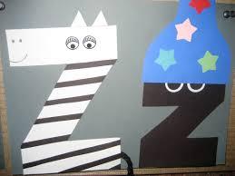 letter z craft zebra for kids preschool crafts