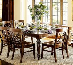 square dining table centerpiece video and photos