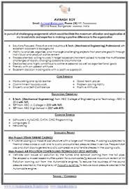 Best Resume Format Mechanical Engineers Pdf by Cover Letter For Mechanical Fresher Pdf White Homework Desk