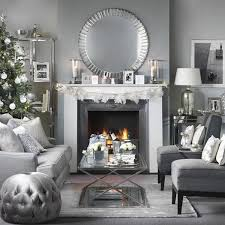 Modern Christmas Home Decor 53 Wonderfully Modern Christmas Decorated Living Rooms Modern