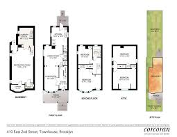 Brooklyn Brownstone Floor Plans by Elegant Kensington Home Wants 1 6m After Full Renovation Curbed Ny