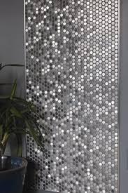 Metallic Kitchen Backsplash by Reflective Metallic Kitchen Backsplash Tile Stainless Steel
