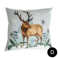 sell home interior deer decorative pillow deer decorative pillows for grey