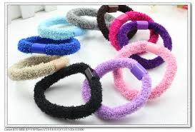 hair bands for women 100 pcs per lot plastic connected mixed color girl women