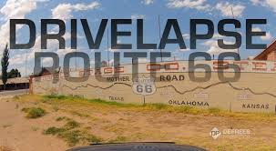 Historic Route 66 Map by Route 66 Timelapse From Chicago To La In 3 Minutes Youtube
