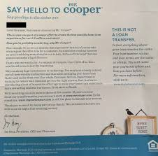 Closing Business Letter To Customers by Nationstar Officially Begins Transition To Mr Cooper 2017 02 08