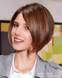 haircuts forward hair preppy and neat short bob haircut with graduation and a forward angle