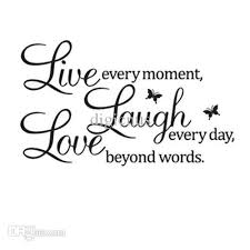 live laugh love s5q diy live laugh love quote vinyl decal removable art wall