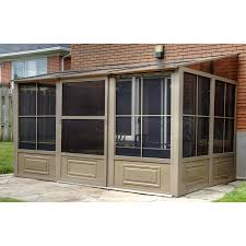 Patio Gazebo 10 X 10 by Shop Gazebos At Lowes Com