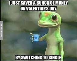 Meme Money - saved a bunch of money on valentines day meme