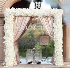 wedding arches decorating ideas tulle wedding arch decorations ideas