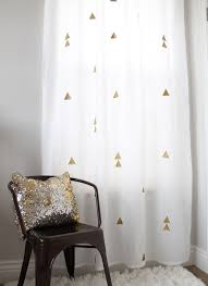 creative of gold and white striped curtains and best 25 gold