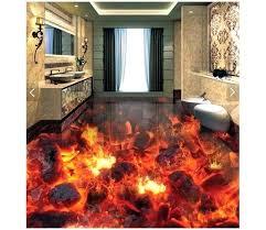 3d bathroom flooring 3d bathroom floors customized wallpaper floor painting wallpaper