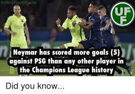 Uf Memes - ultra foot facts uf qatar neymar has scored more goals 5 against