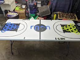 is paint any my roommate is painting a custom beerpong table for our