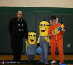 Gru Halloween Costume Diy Despicable Family Costume