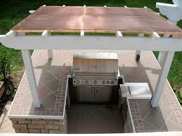 outdoor kitchen roof ideas outdoor roof ideas roof stunning custom cooper roof pergola