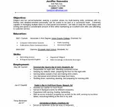 sle hostess resume hostess resume skills fresh sle hotel templates of