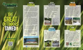 landscaper brochure layout website inspiration coastal plants