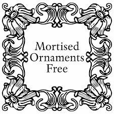 mortised ornaments free font by intellecta design fontspace