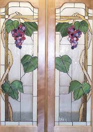 Glass Designs For Kitchen Cabinet Doors by 265 Best Stained Glass Grapes Grapevines And Wine Images On