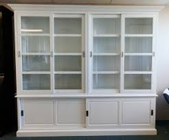 buffet cabinet with glass doors foter