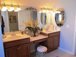 brilliant amazing inspiration ideas double sink vanity with makeup