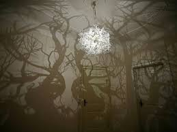 Diy Led Chandelier Amazing Diy Forest Tree Shadow Chandelier Inspired By Nature The